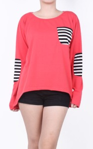 highlow_stripes_blouse_PINK2